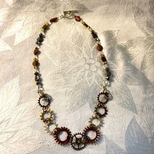 The Gears Necklace